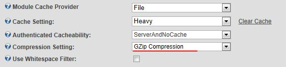 laadtijd optimalisatie GZip Compression